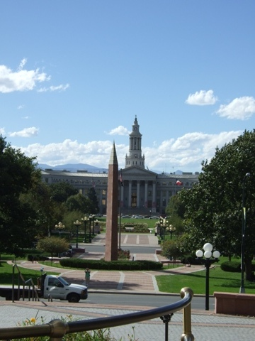 View from the State Capitol