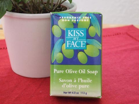 KISS MY FACE - Pure Olive Soap