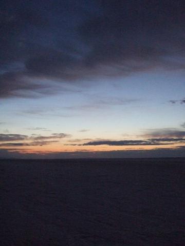 Dawn at Salt Flats