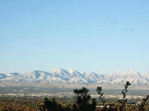 ソルトレイクの山
