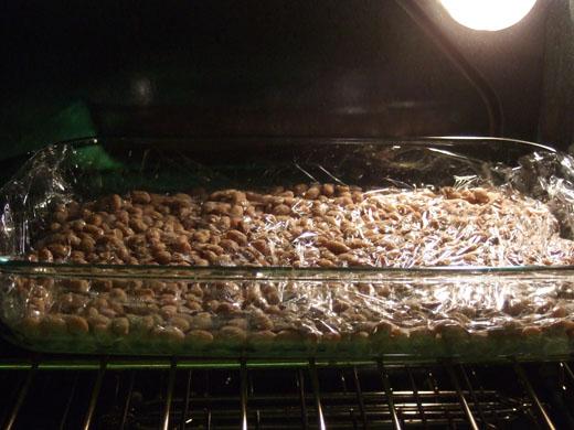 納豆発酵中