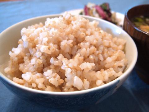 玄米のびっくり炊き