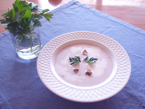 小豆の冷製スープ